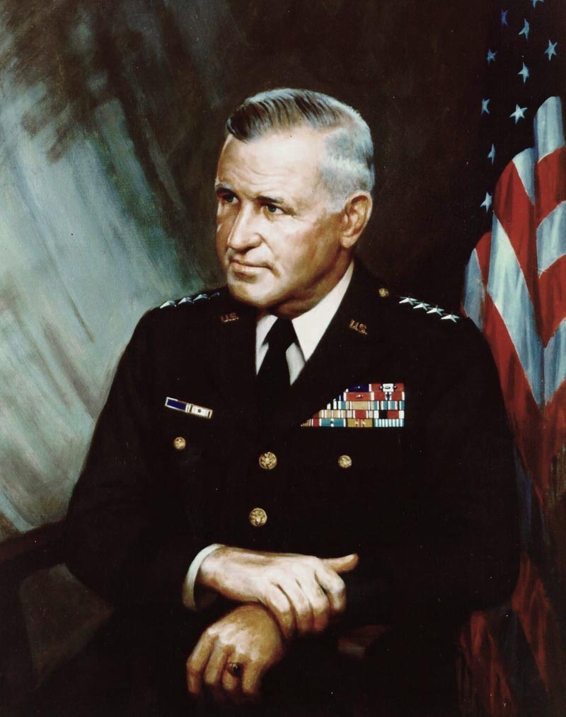 Creighton Abrams. So, he got one thing wrong. He still saved the Army after Vietnam and got a badass tank named after him. Source: US Army