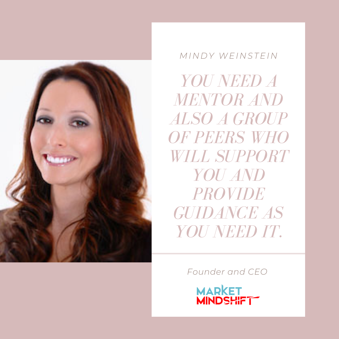 Mindy Weinstein Founder and CEO of Market Mindshift