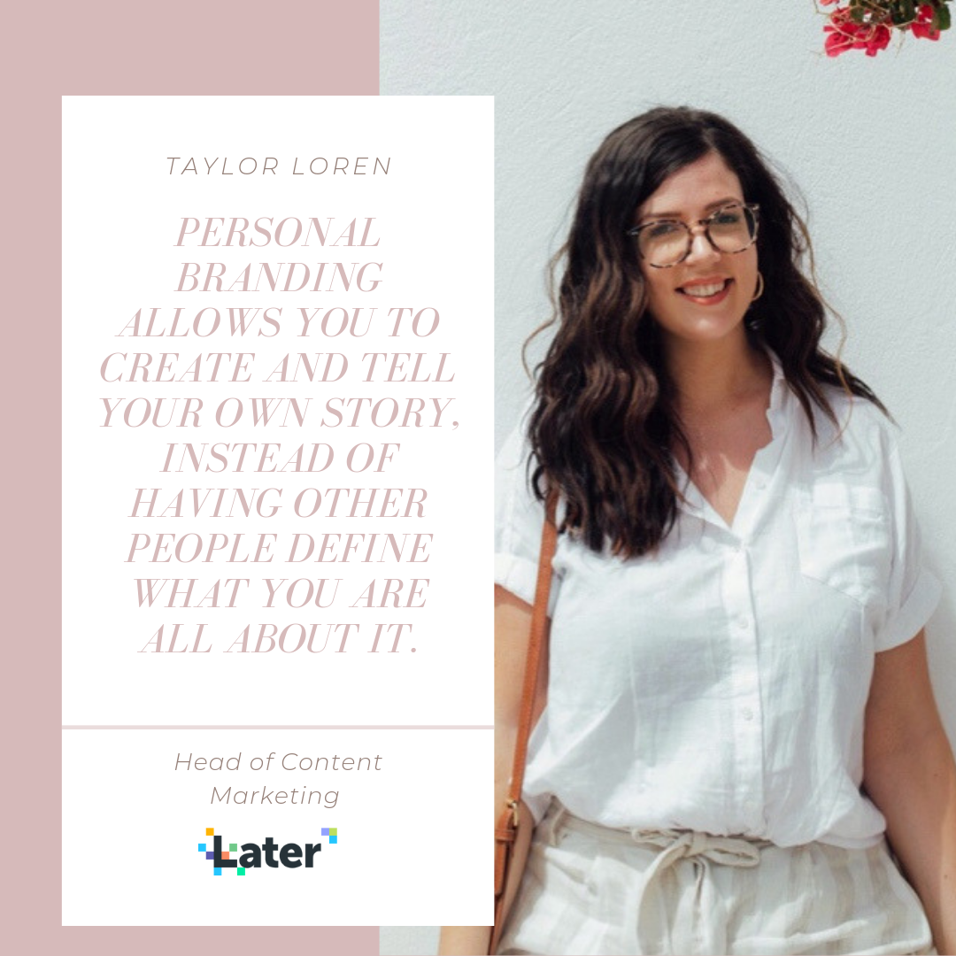 Taylor Loren Head of Content Marketing at Later