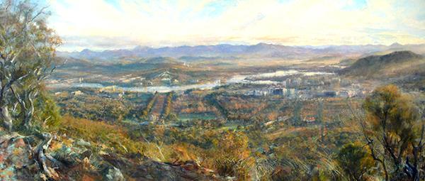 Robert Pengilley Limestone Plains 100 years on 287x122cm $36000.JPG