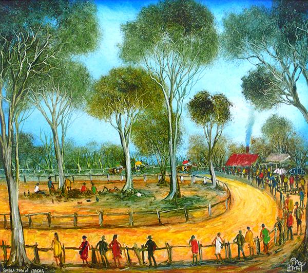 Pro Hart Small Town Races.jpg