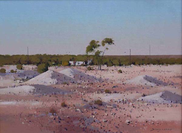 Down on his Luck - Lightning Ridge 46 x 61 cm $2000.jpg