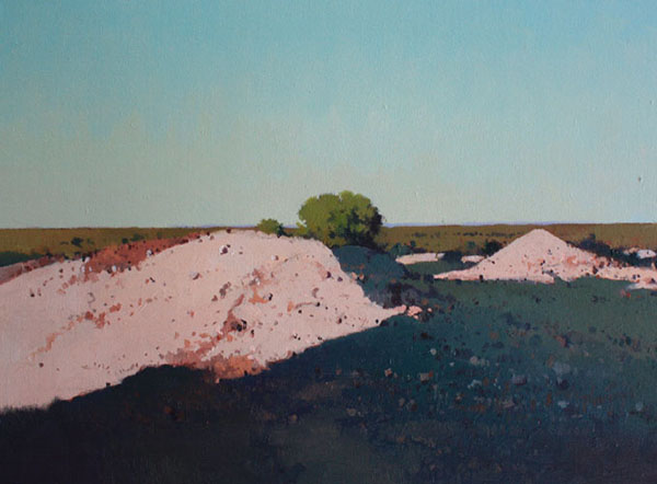 Early Morning - White Cliffs 46 x 61cm $2000.jpg