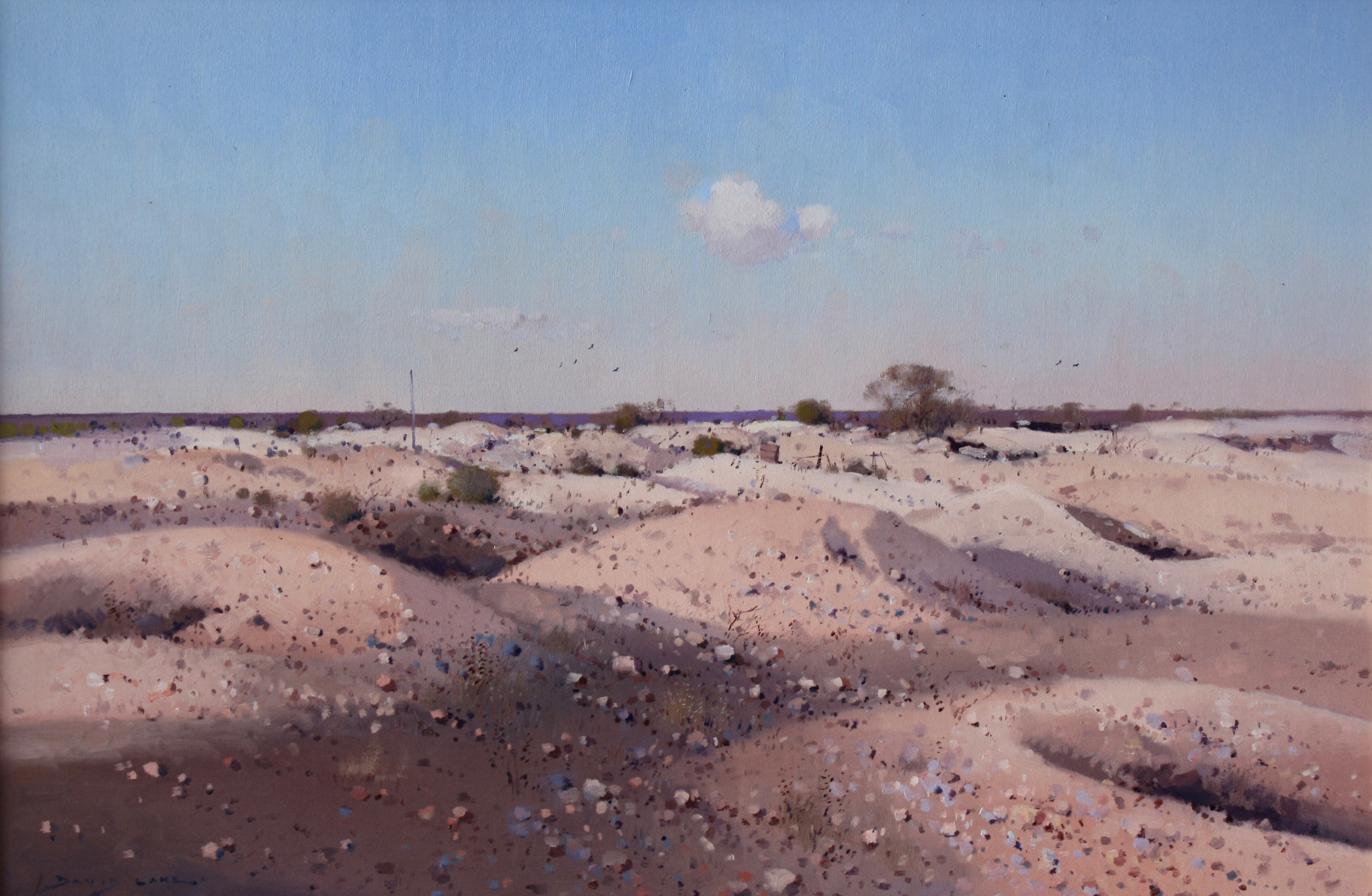 David LakeThe Diggings - White Cliffs 51 x 76cm.jpg