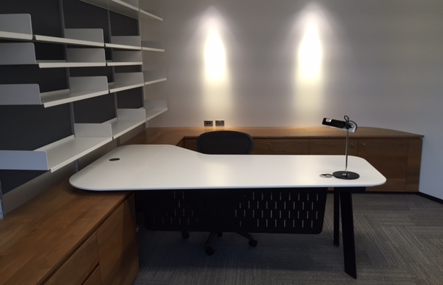 Executive Corian desk