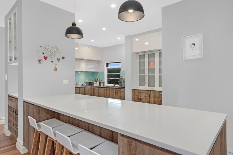 Glacier White Kitchen