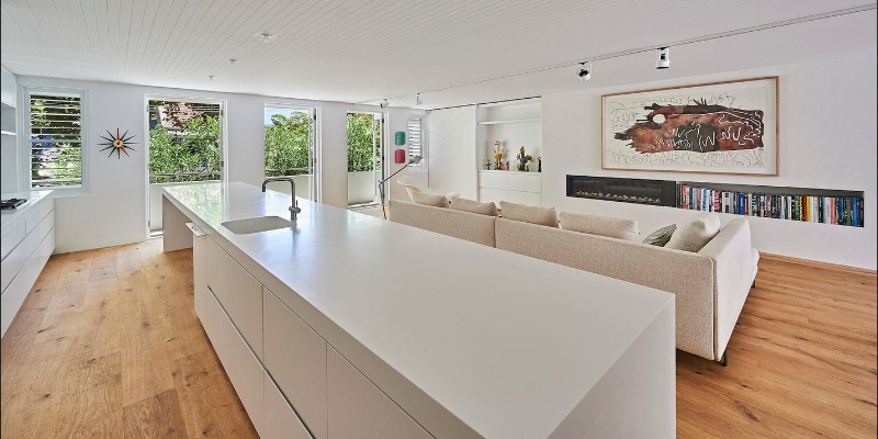 Corian Kitchen Bechtop