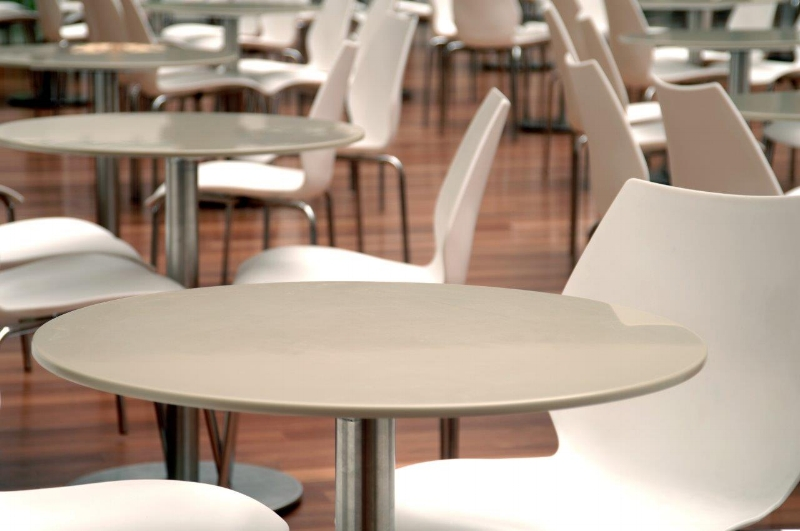Round Corian Table Top