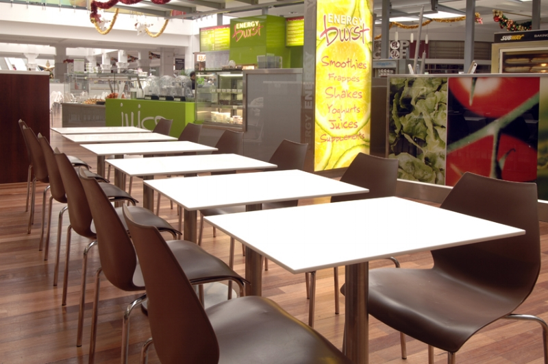 Food Court Table Tops