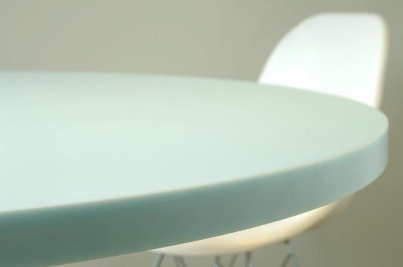 Seamless curved edge