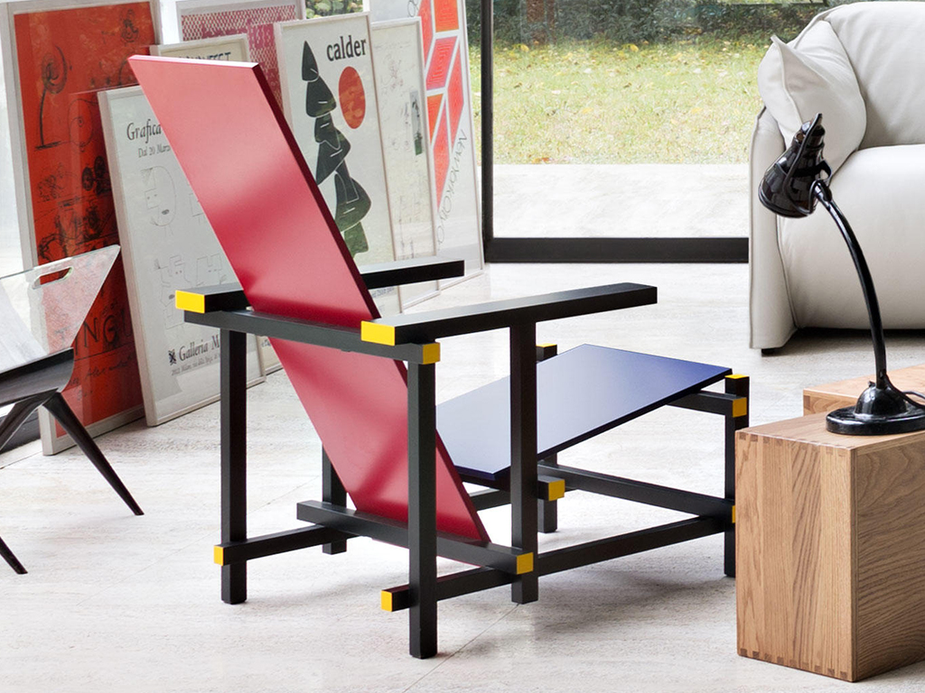 CASSINA - RED AND BLUE