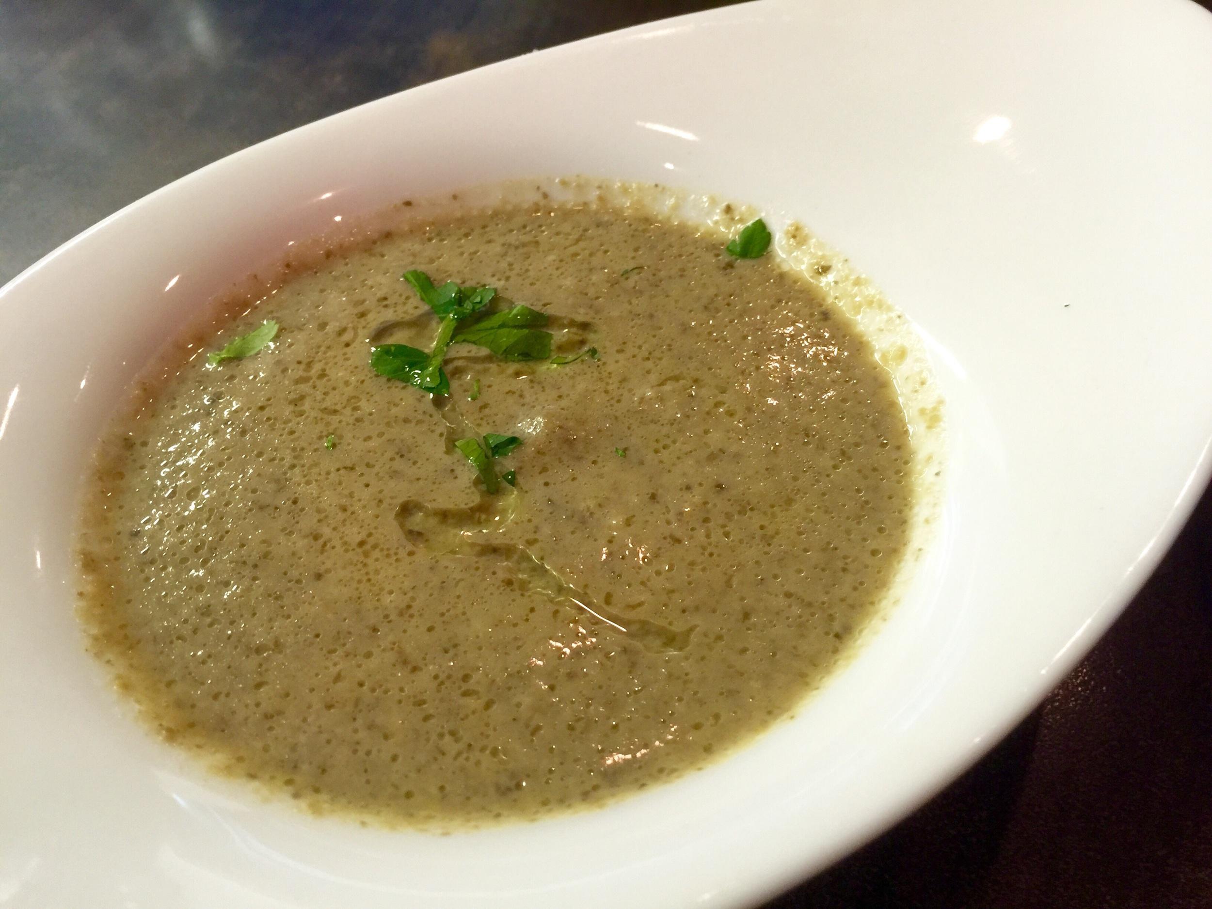 Zuppa di funghi - Decent mushroom soup