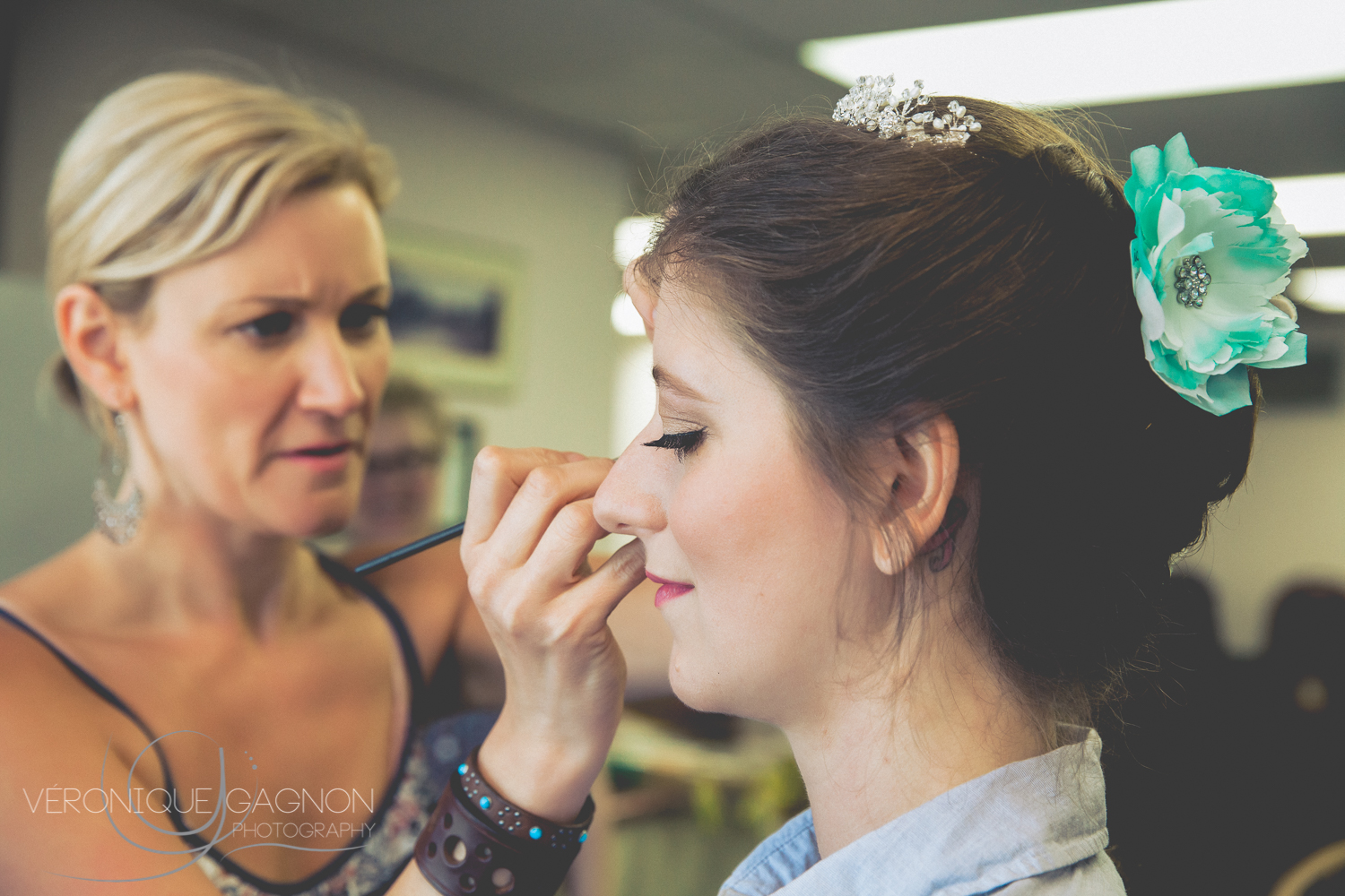 I was so thrilled to work once more on the side of  Melanie Baird ! She is such an amazing makeup artist and such a sweet person!