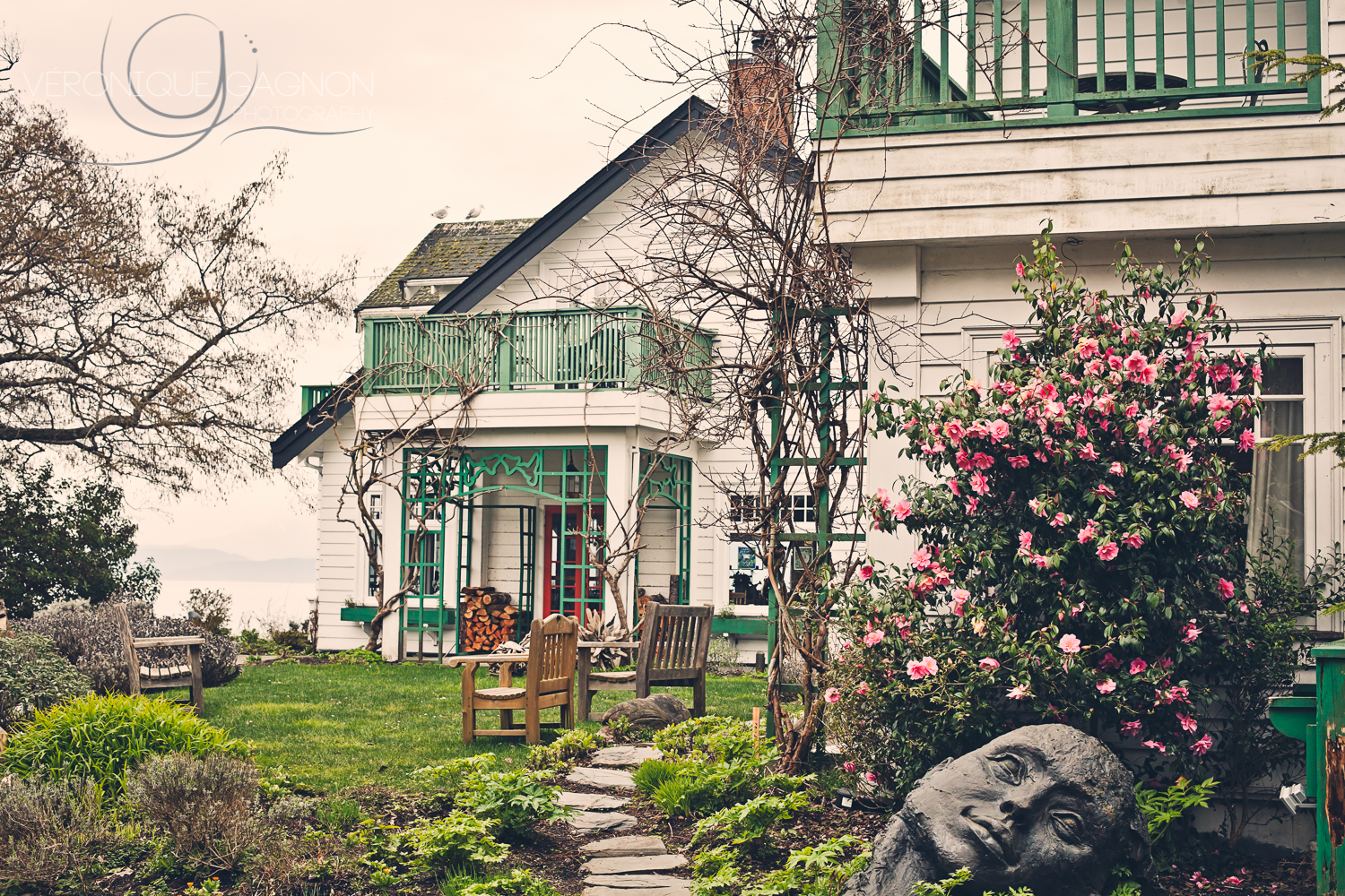 Sooke Harbour House  in the Spring