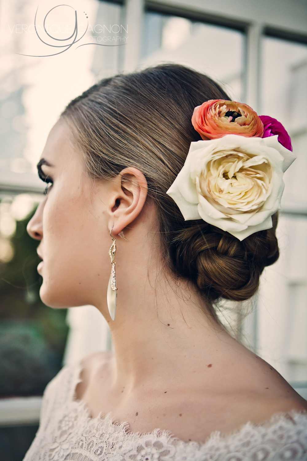 Stunning natural chic and romantic hair by  Conscious Hair