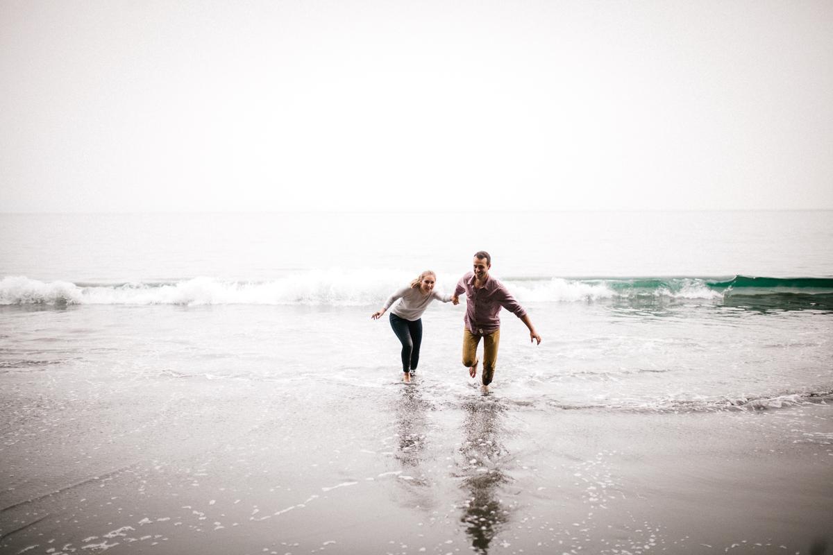 Veronique Gagnon Photography, Mystic Beach Engagement Session, V