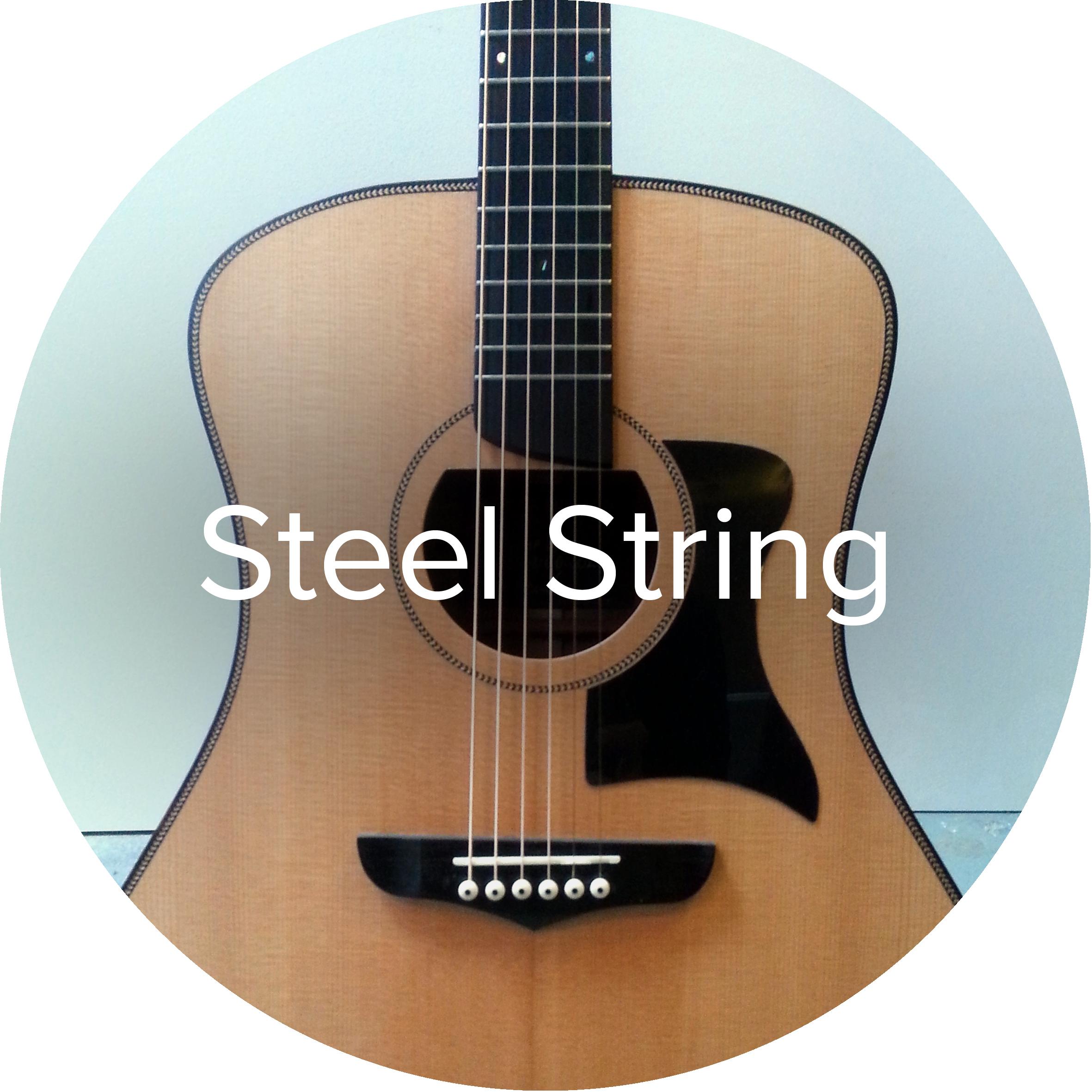 Goldbeard acoustic steel string guitar