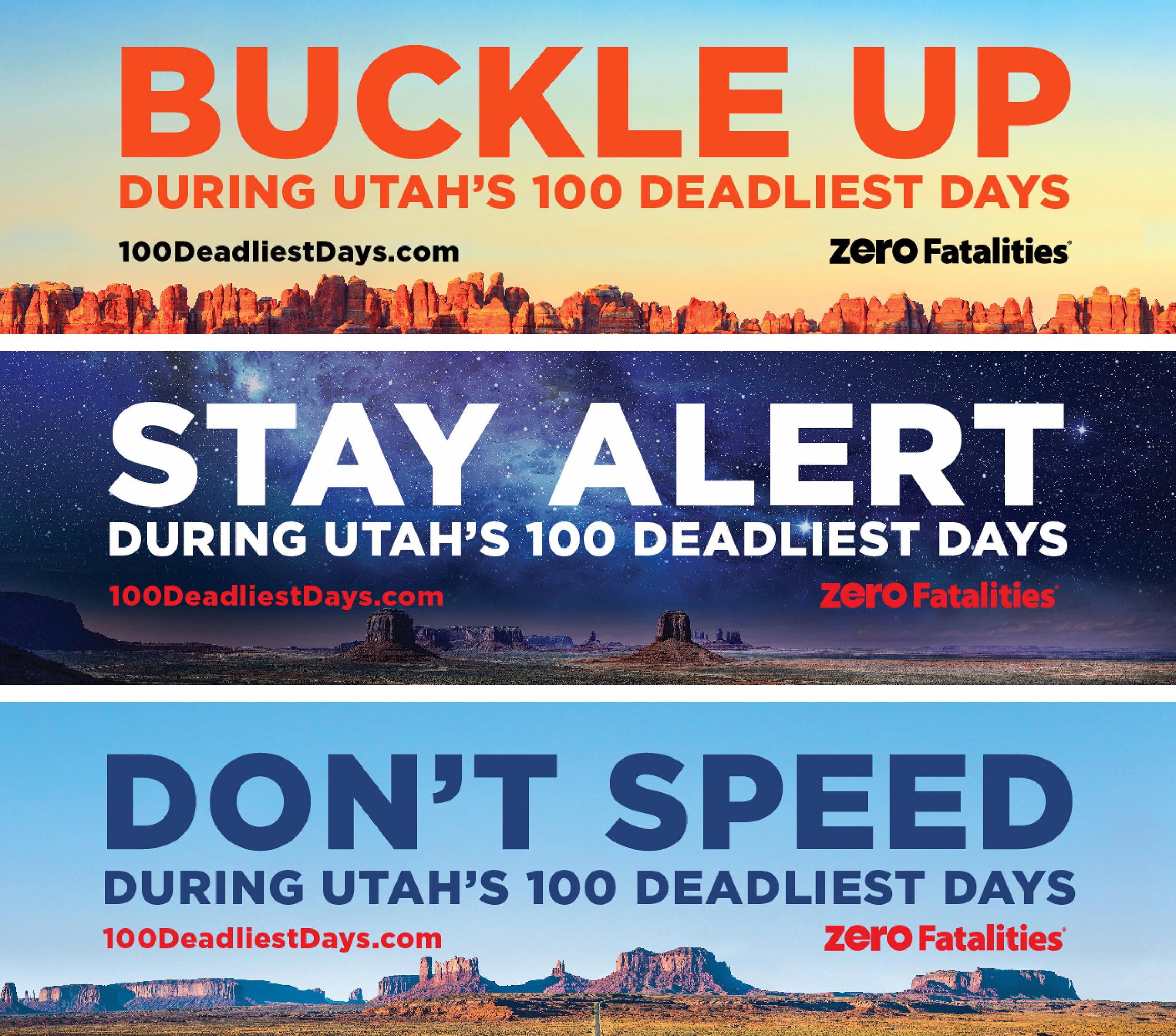 100 Deadliest Days Billboards