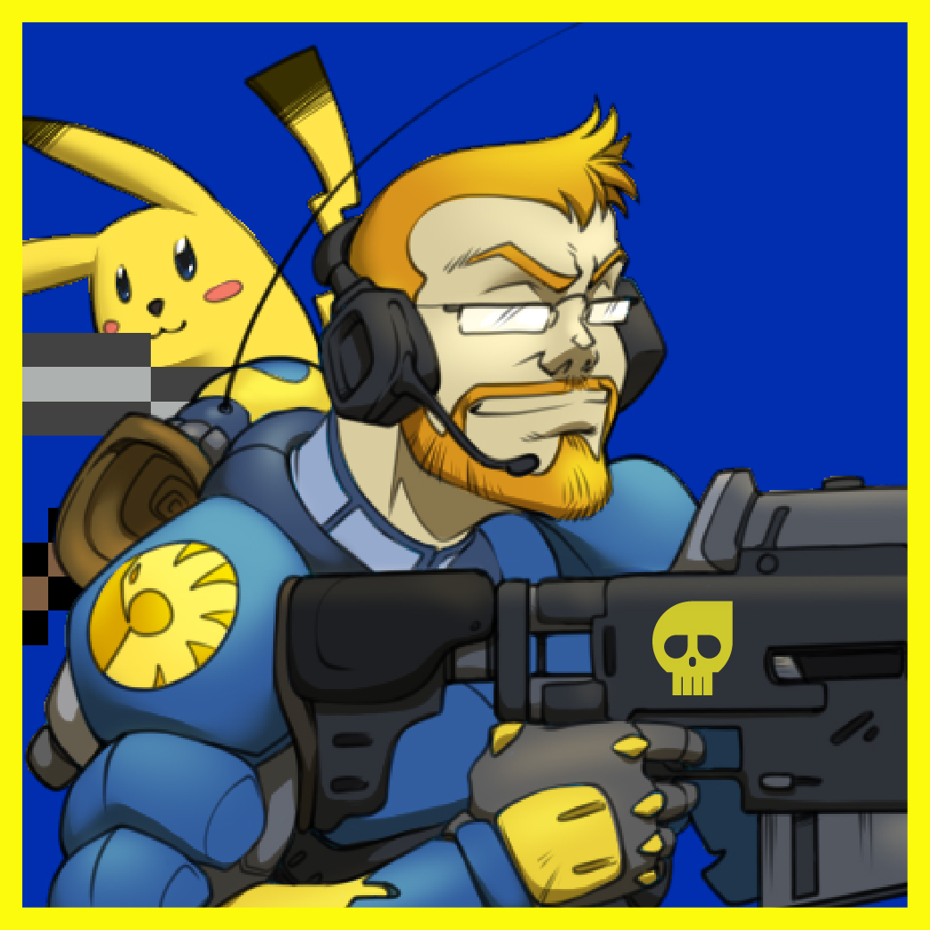 Twitch profile picture design