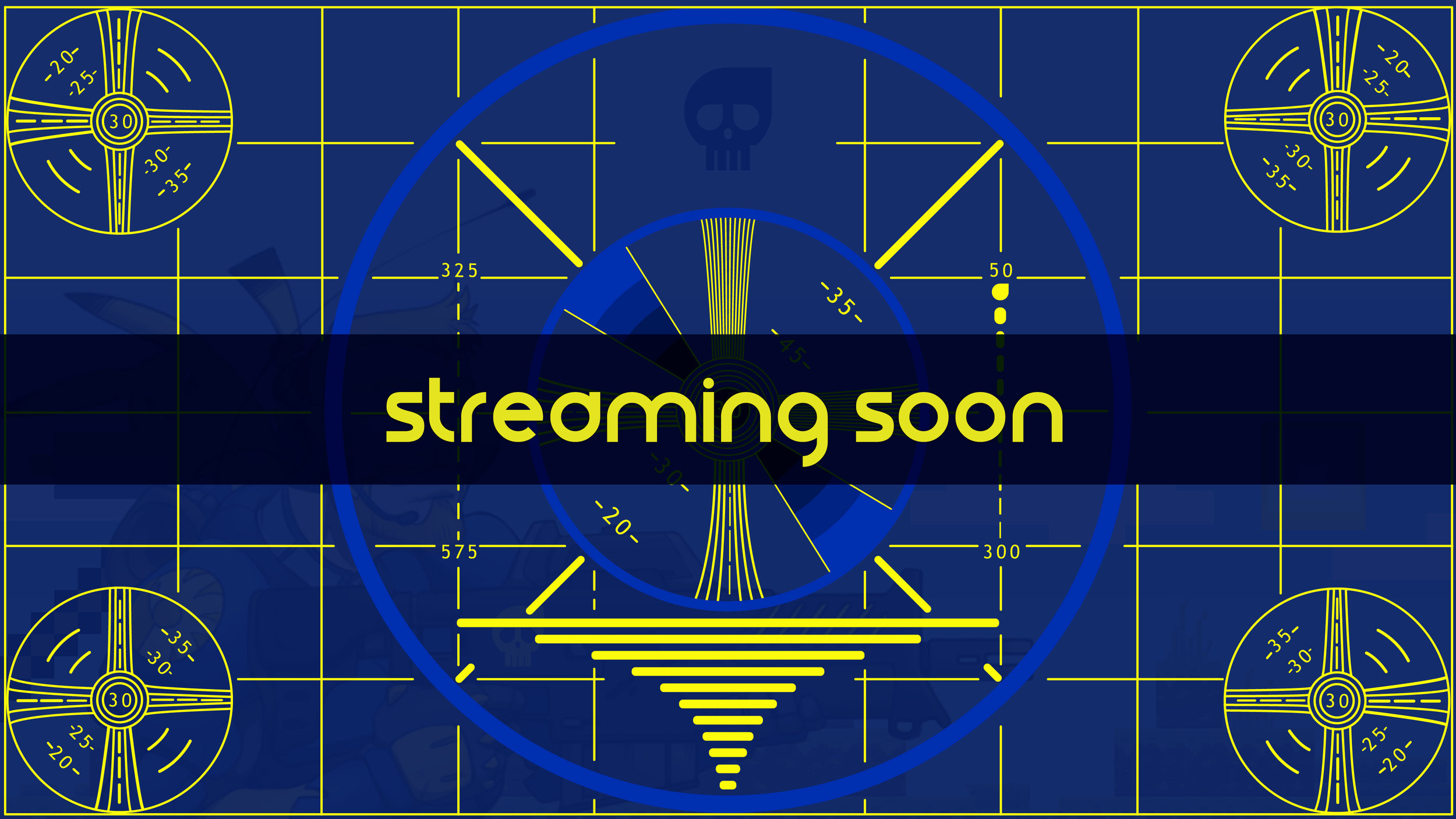 Streaming Soon Screen