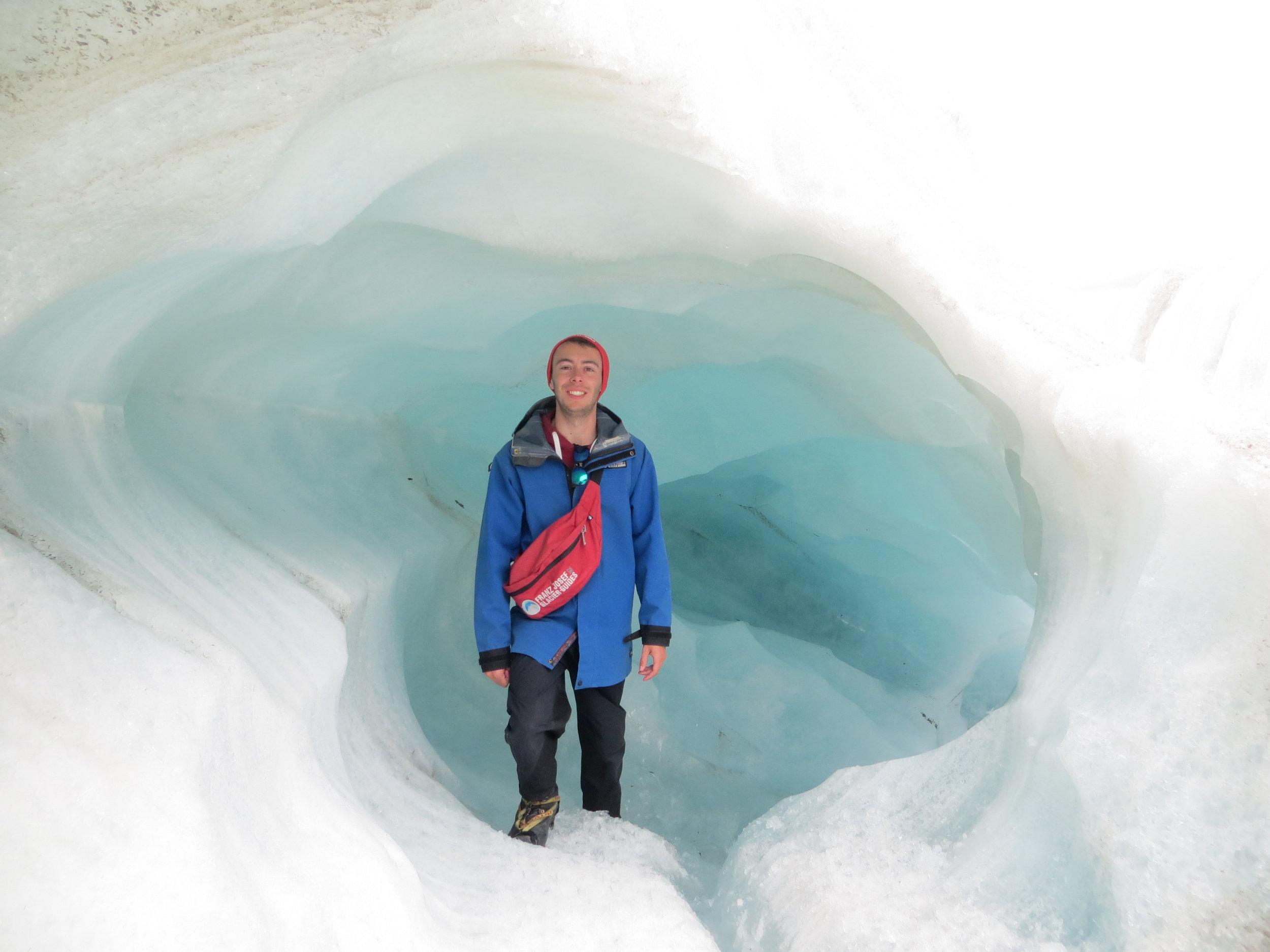 Exploring the glaciers of New Zealand