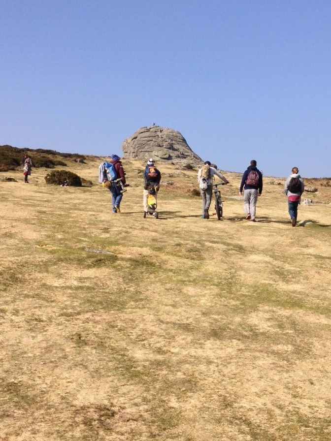 Heading up to a tor