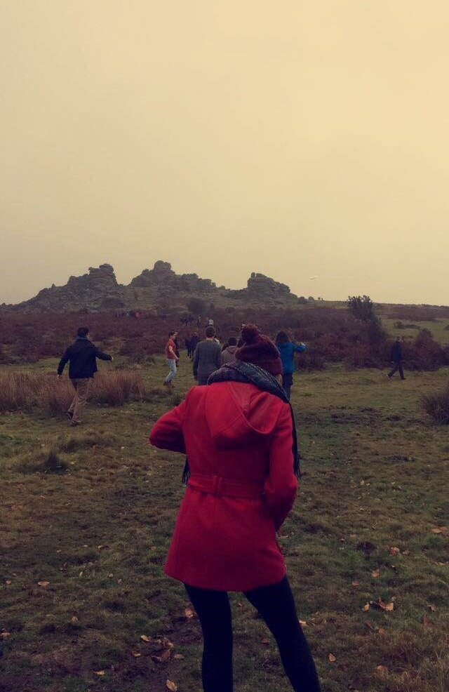 Walking in Dartmoor in any weather is always an experience!