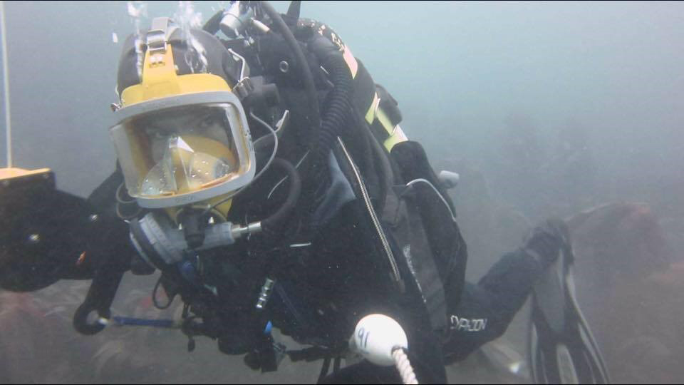 A dive in the kelp beds of Plymouth Sound.