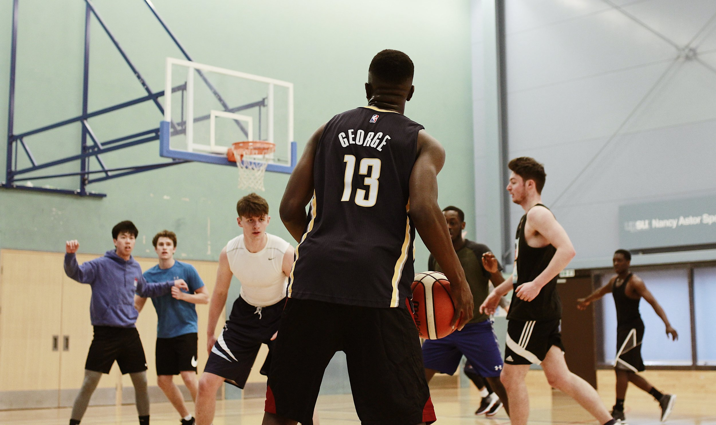 Pick-up game, University of Plymouth Basketball Club