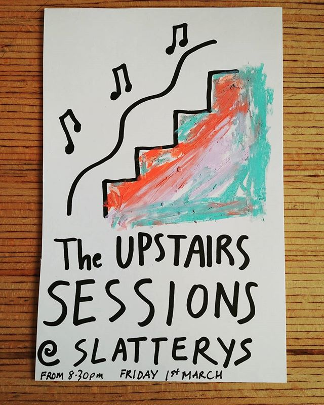 A quick poster for my friends new session night! . . . . #music #spokenword #songs #design #irishdesign #graphicdesign