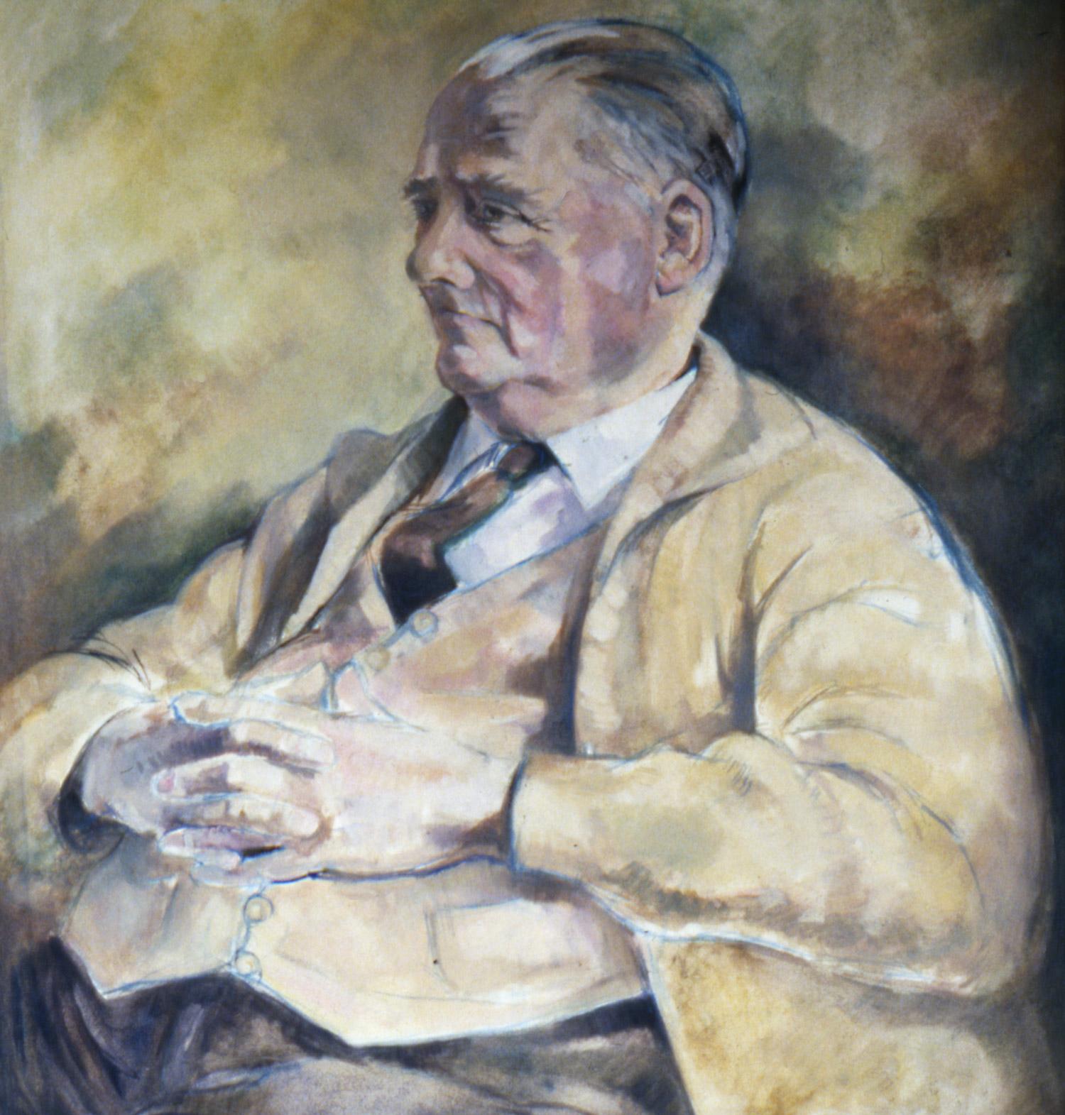 FRANK AGED 84 Oil on canvas, 72cm x 80cm
