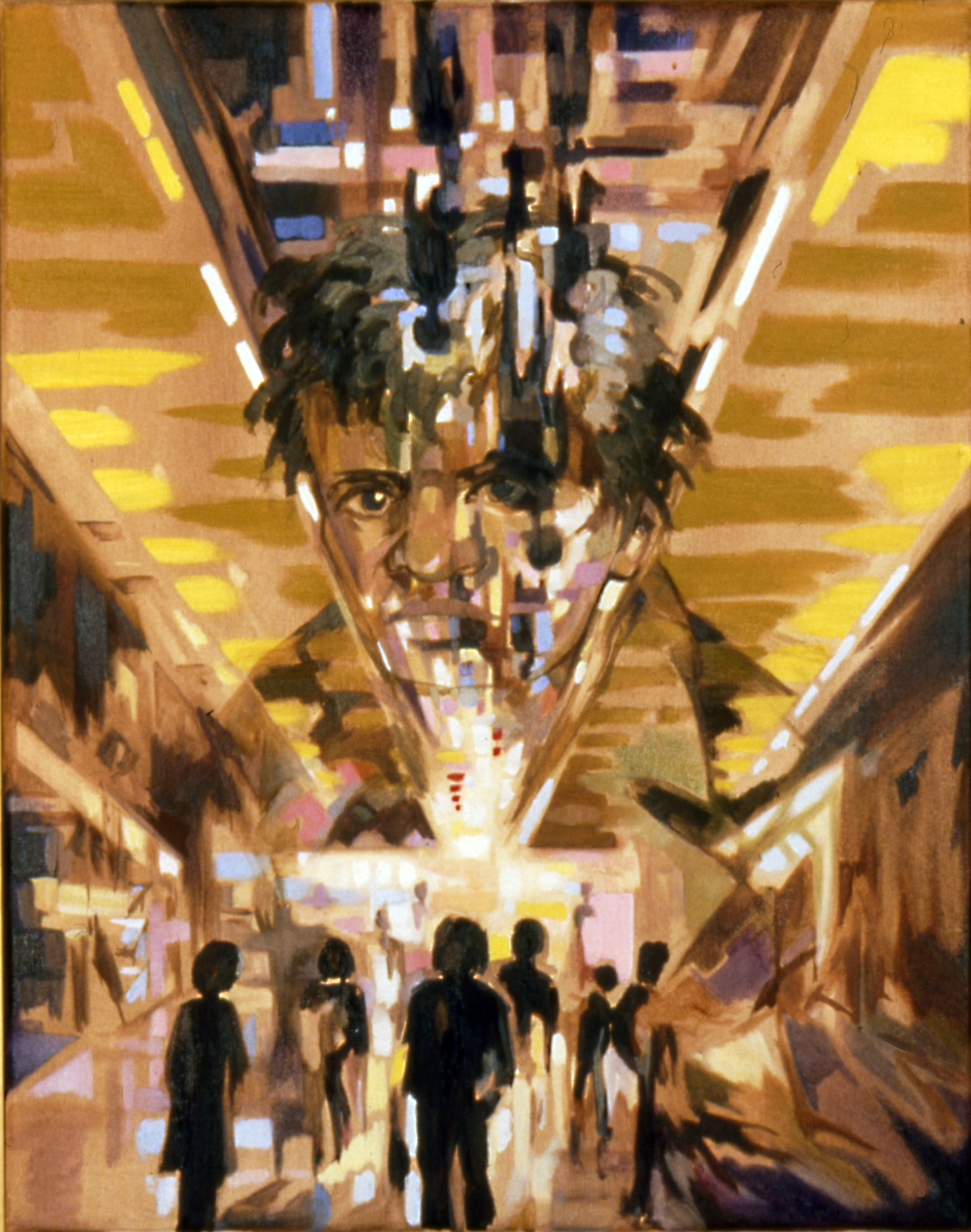 INNER CITY Oil on canvas, 60cm x 70cm