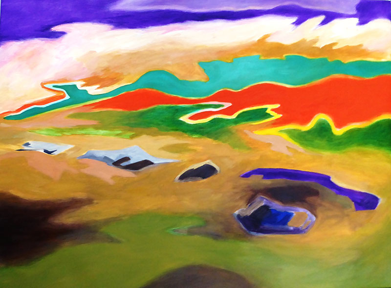 Volcanic Colours  New Zealand 1