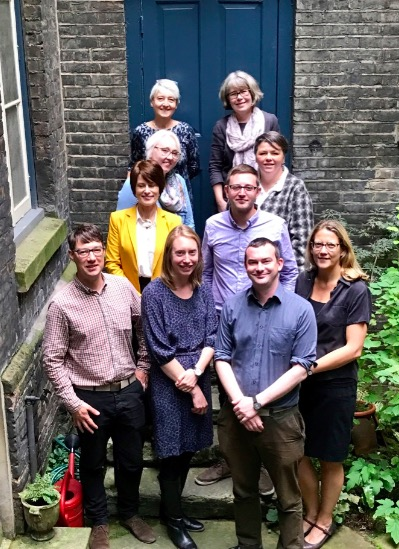 The newly enlarged team of Support Officers, with Operations Manager Gavin Richards on the left.