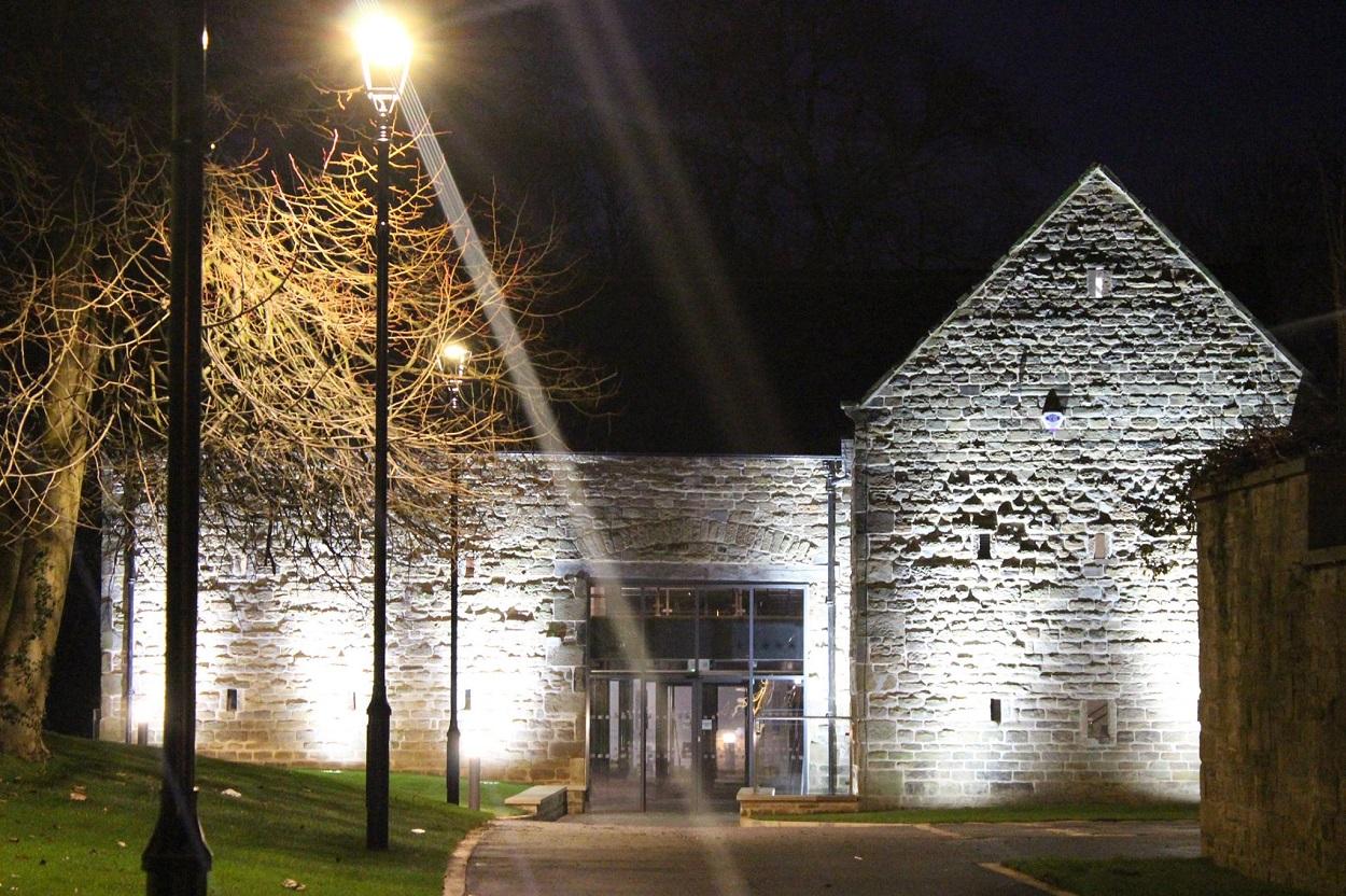 Dronfield Hall Barn at Night after refurbishment.jpg