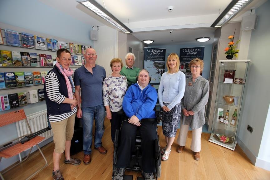 Volunteers, Glenarm Visitor Centre