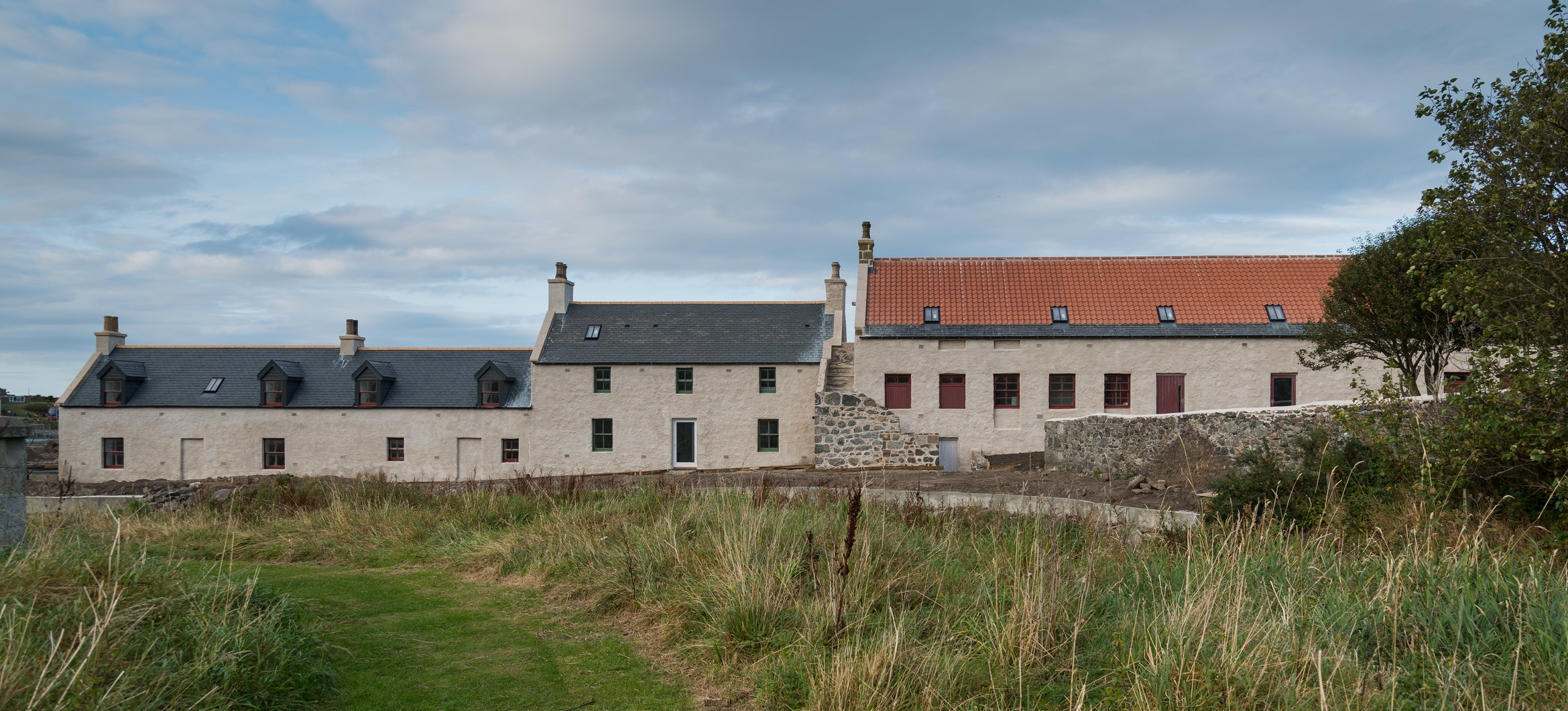Sail Loft, Back Green, Portsoy, Aberdeenshire - one of the first HLF Heritage Enterprise projects that was also supported with an AHF working capital loan.