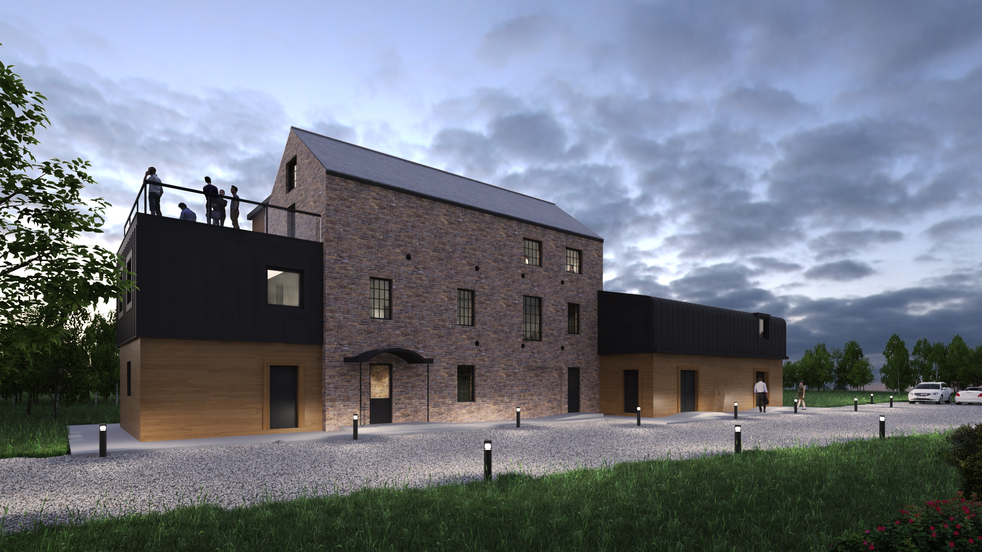 CGI of Spencer's Mill - Viva Arts and Community Group