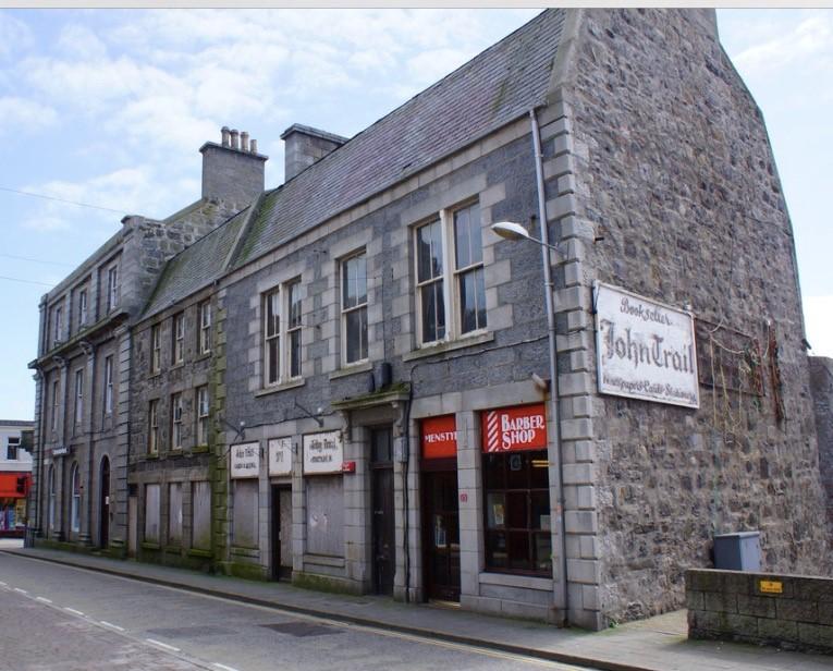 Former Bookshop, Fraserburgh