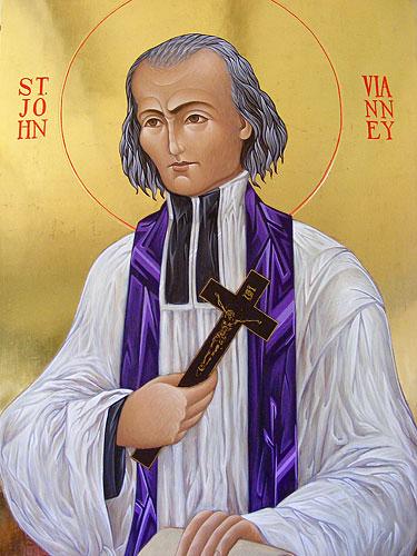 St John Vianney, detail