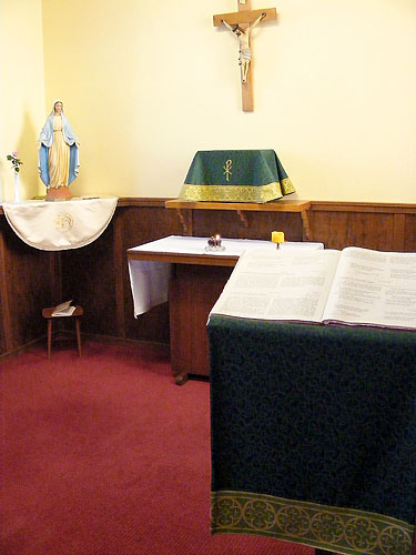 Tabernacle Veil and Lectern Banner