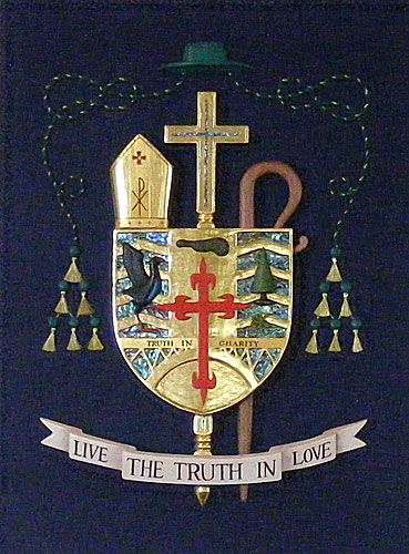 Crest of the Bishop of Hamilton