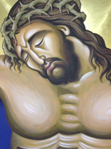 Crucifixion Scene, detail