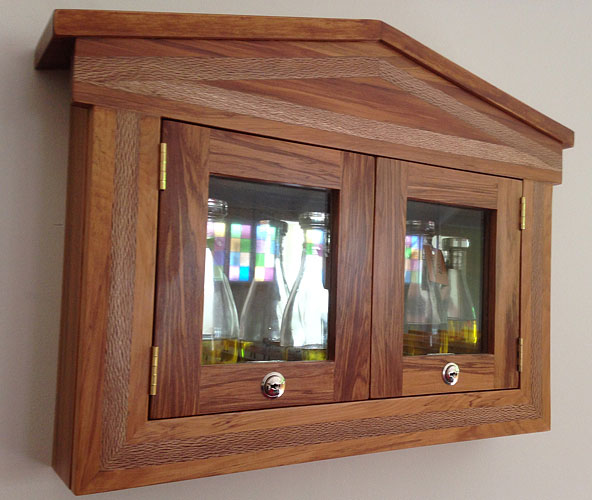 Holy Oils Cabinet
