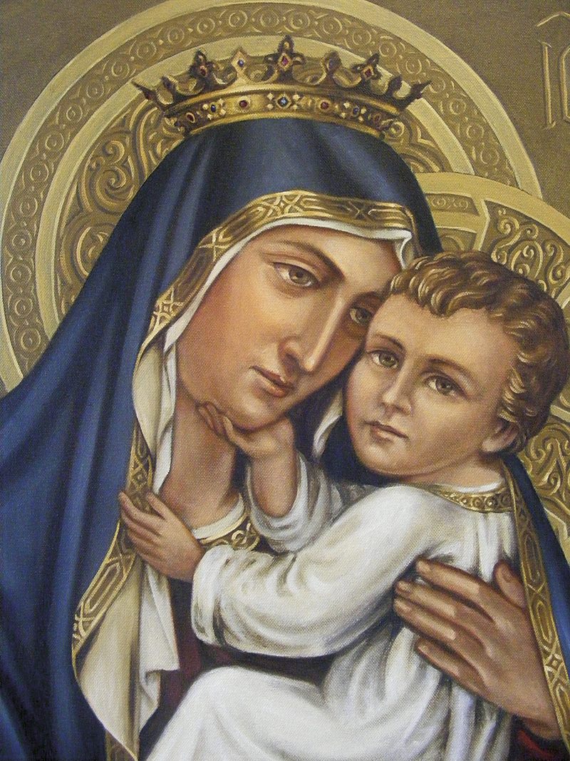 Our Lady of Mt Carmel (close up)