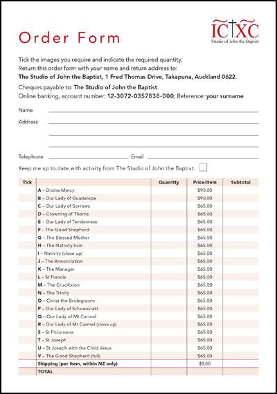 D  ownload Order Form