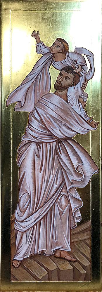 St Joseph, Flight into Egypt