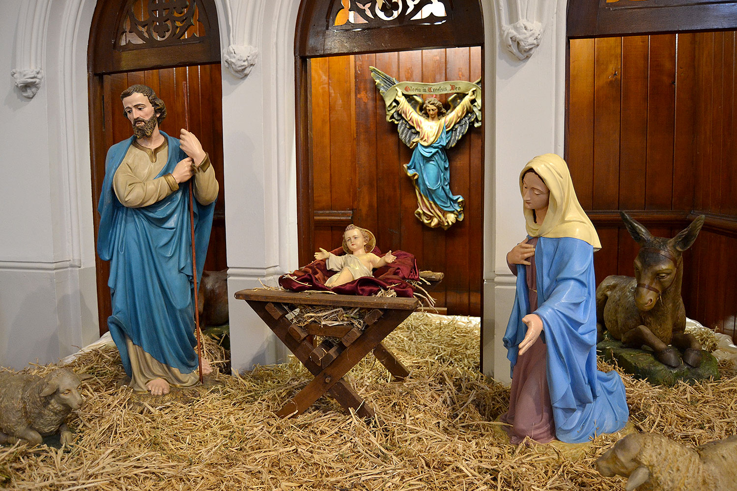 Christmas Crib Pieces