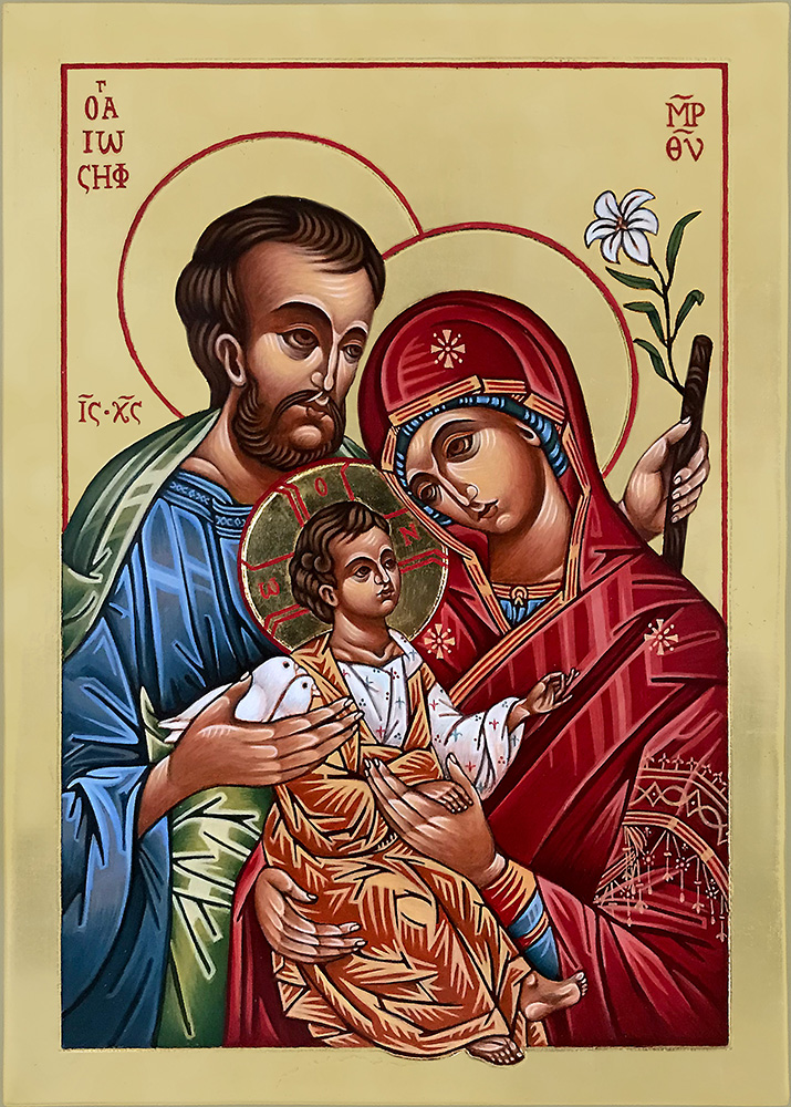 Icon of the Holy Family 27 x 37 cm NZD$1,500.00   Enquire