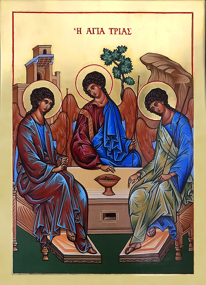 Icon of the Holy Trinity 29 x 41 cm NZD$1,780.00   Enquire